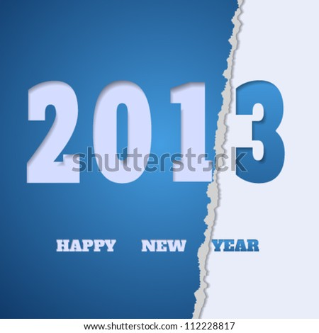 Happy new year background. Vector illustration. - stock vector
