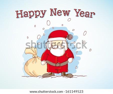 Happy New Year - Illustration - stock vector