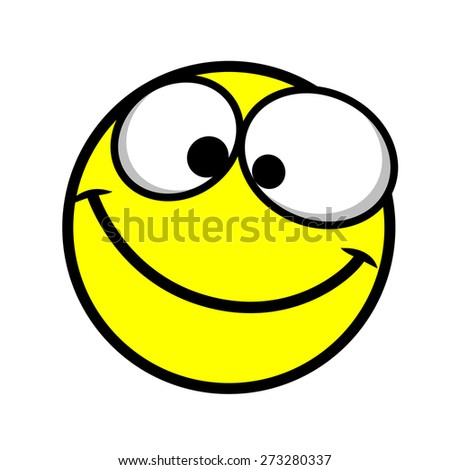 Happy Smiley - stock vector