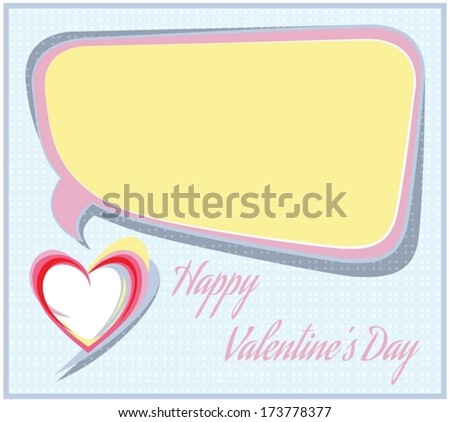 Happy Valentine's Day background concept. - stock vector