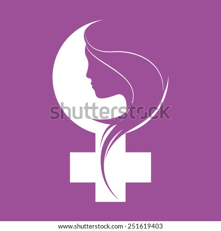 happy womens day design, vector illustration eps10 graphic  - stock vector