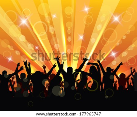 Happy young people. Lifestyle concept. - stock vector