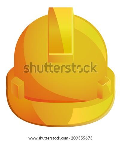 Hard Hat vector icon - stock vector