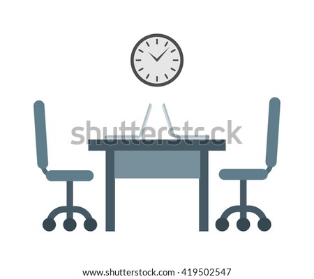 Hard working always on time to work. Time to work vector concept and businessman deadline hour time to work. Time to work office job and worker watch professional work place success management. - stock vector
