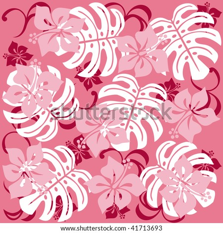 Hawaii Illustration - stock vector