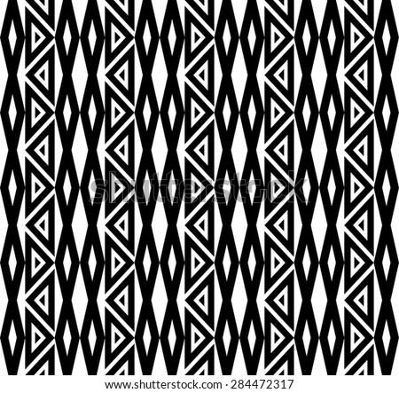 Hawaiian Kakau Tattoo Pattern Design - stock vector