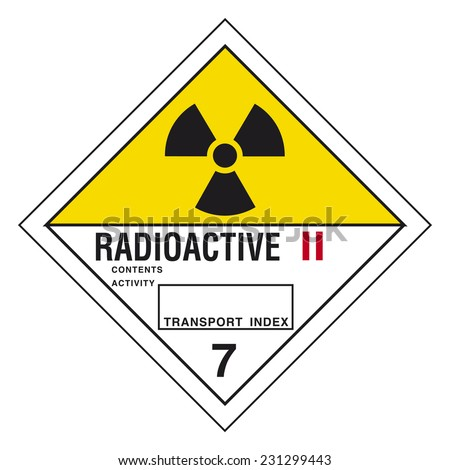 Hazardous pictogram - stock vector