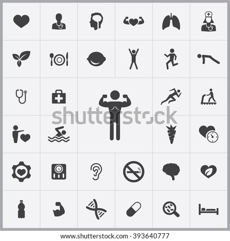 health Icon, health Icon Vector, health Icon Art, health Icon eps, health Icon Image, health Icon logo, health Icon Sign, health icon Flat, health Icon design, health icon app, health icon UI - stock vector