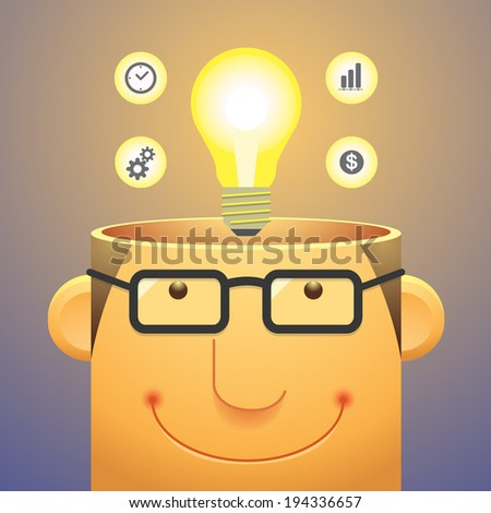 Health Mental vector - stock vector