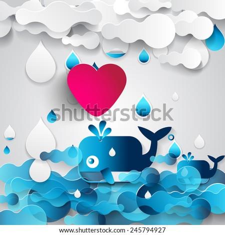 heart - stock vector