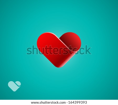 Heart symbol - stock vector