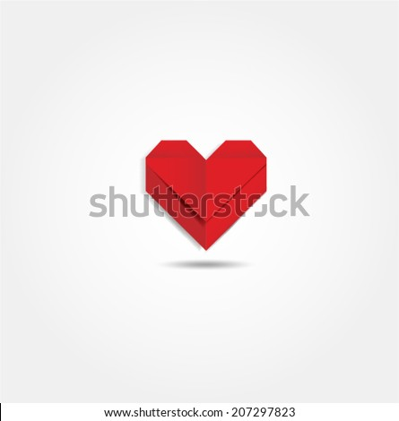heart valentine's day vector - stock vector