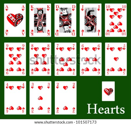 hearts - stock vector