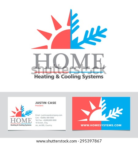 Heating system stock vectors vector clip art shutterstock for Home heating systems