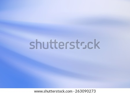heavenly blue celestial azure background with soft delicate folds - stock vector