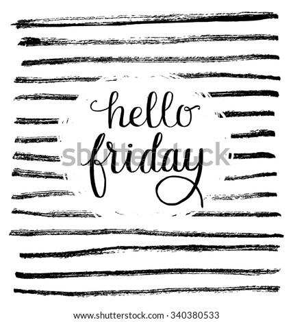 I Love Friday Stock Vectors & Vector Clip Art  Shutterstock