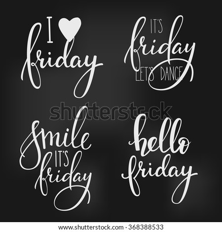 Its friday Stock Photos, Images, & Pictures  Shutterstock