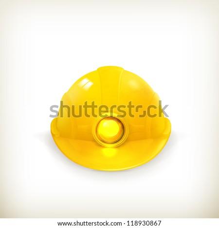 Helmet, vector - stock vector