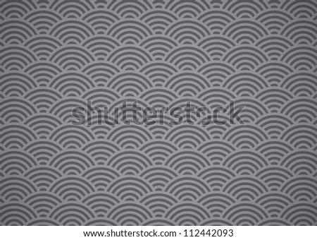 hexagon wallpaper - stock vector