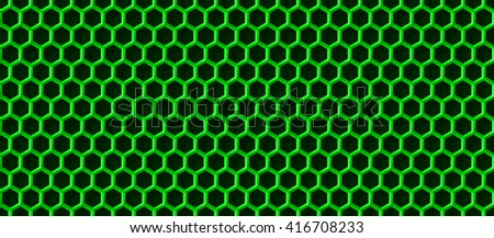 Hexagonal grid background. Cube vector background. Seamless geometric pattern. Modern style texture. - stock vector