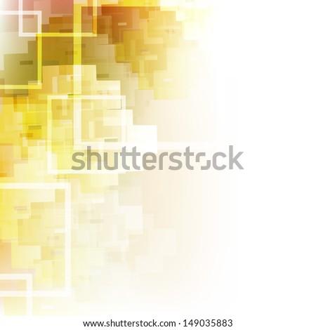 Hi tech abstract background. - stock vector