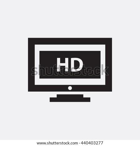 High definiton Icon, High definiton Icon Eps10, High definiton Icon Vector, High definiton Icon Eps, High definiton Icon Jpg, High definiton Icon, High definiton Icon Flat, High definiton Icon App - stock vector