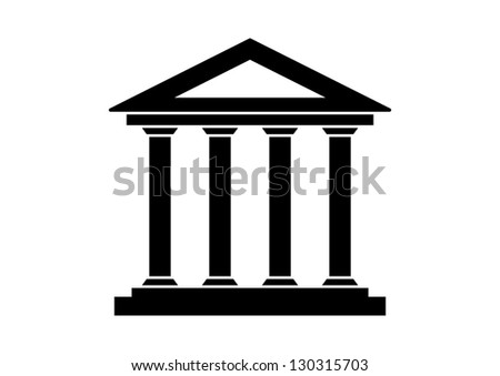 Historical building - stock vector
