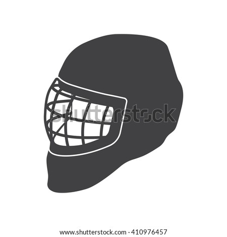 Hockey Helmet Icon. Hockey icon eps10, Hockey icon vector, Hockey icon eps, Hockey icon jpg, Hockey icon path, Hockey icon flat, Hockey icon app, Hockey icon web, Hockey icon art, Hockey icon AI - stock vector