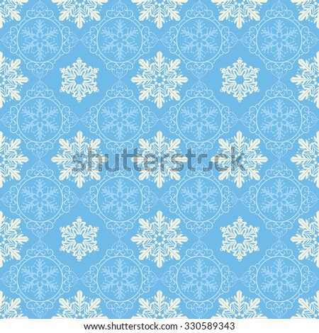 Holiday Background, Snowflake Abstract Background, Snowflake Pattern, snowflake background, snowflake template, snowflake designs, snowflake decorations, Christmas Decoration, Blue Background - stock vector