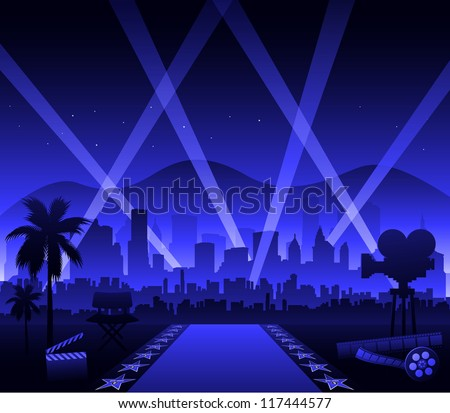 Hollywood background Stock Photos, Images, & Pictures ...