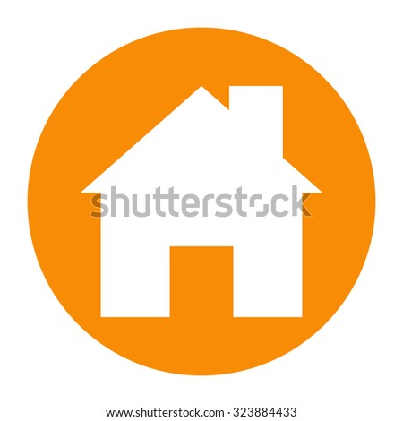 Home icon. - stock vector