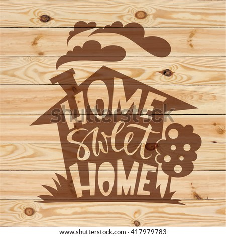 Home sweet home sign stock photos images pictures shutterstock - Home sweet home designs ...