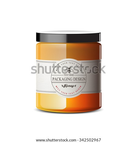 honey jar stock photos images amp pictures shutterstock