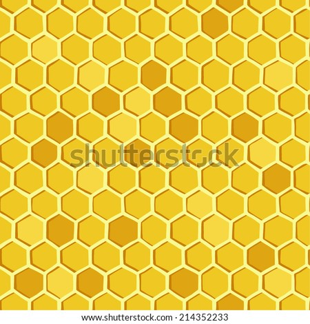Honeycomb. Vector - stock vector