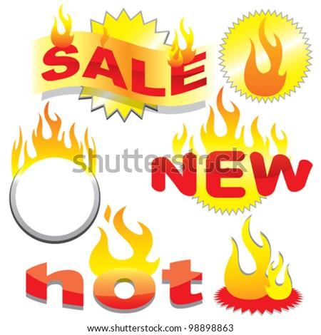 hot sale - stock vector