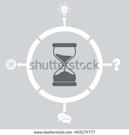Hourglass Icon. Hourglass Icon Vector. Hourglass Icon Object. Hourglass Icon Picture. Hourglass Icon Image. Hourglass Icon Graphic. Hourglass Icon JPEG. Hourglass Icon EPS. Hourglass Icon Design. - stock vector