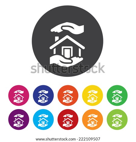 House for sale. mortgage symbol. - stock vector