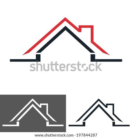house, home, icon  - stock vector