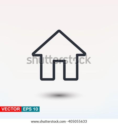 House icon, House icon eps, House icon art, House icon jpg, House icon web, House icon ai, House icon app, House icon flat, House icon logo, House icon sign, House icon ui, House icon vector, House - stock vector