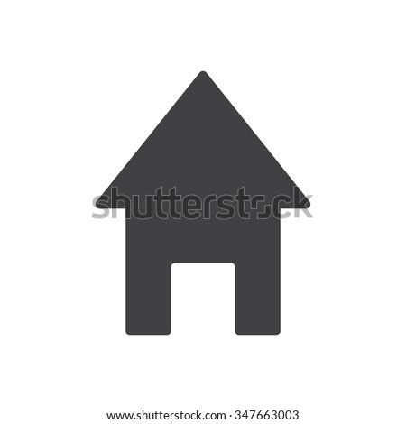 House Icon / House Icon Path / House Icon Image / House Icon Graphic / House Icon File / House Icon Art / House Icon UI / House Icon JPG / House Icon JPEG / House Icon EPS / House Icon  - stock vector