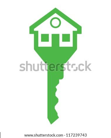 house key - stock vector