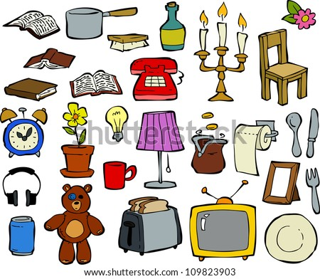 Household items stock photos images pictures for Household design items