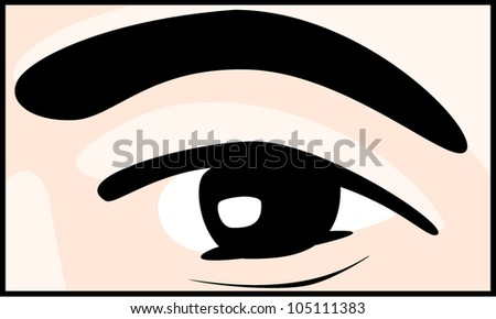 Eye-brow Stock Vectors & Vector Clip Art | Shutterstock