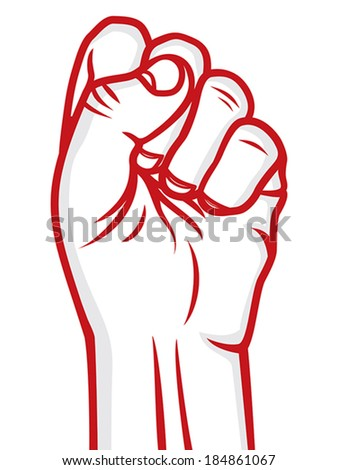 Humans rights poster - stock vector
