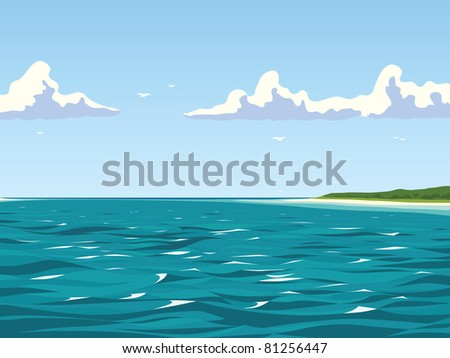 I made this picture as a background. The proportion is 4:3. - stock vector