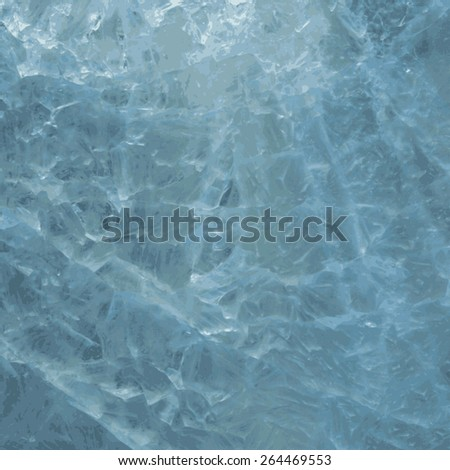 ice texture. abstract background. vector illustration. - stock vector