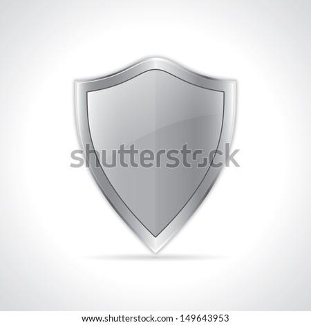 icon of security shield. vector eps10 - stock vector