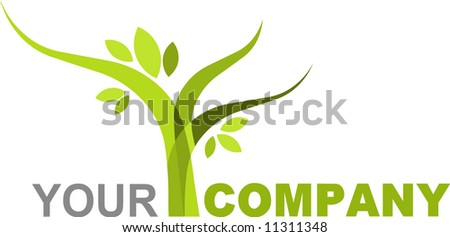 icon of tree - stock vector
