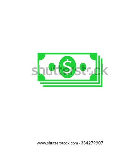 Icon pack dollars. - stock vector