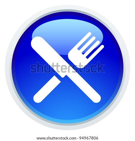 Icon Series - Dining - stock vector